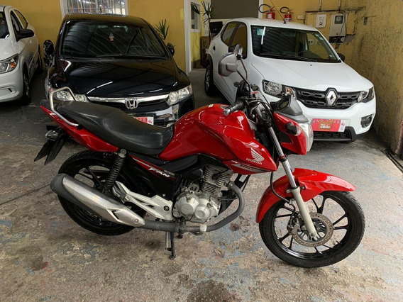 Honda Cg 160 Fan Esdi 2017 Aceitamos Troca