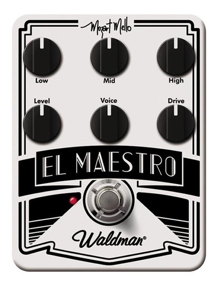 Mm-6fx Waldman Pedal De Guitarra Mozart Mello El Maestro