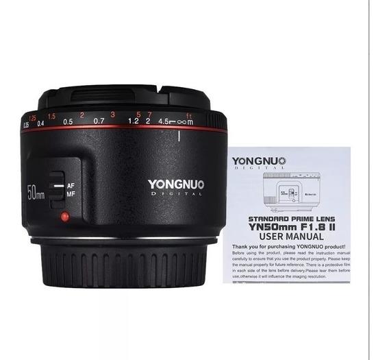 Lente Yongnuo Yn 50mm F/1.8 Li P/canon