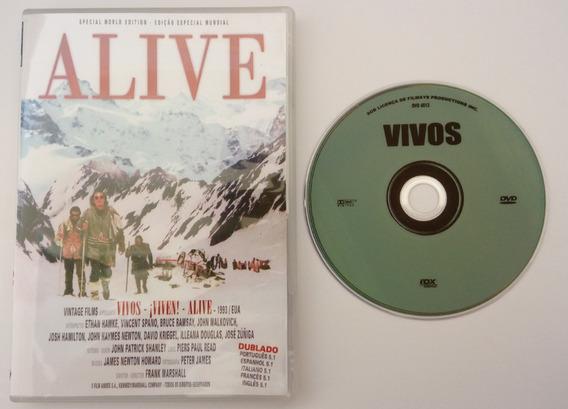 Dvd Vivos ( Alive - 1993 ) Ethan Hawke - Dublado E Legendado