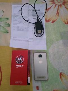 Celular Motorola Moto Z 2 Usado 64 Gigas E 4 De Ram