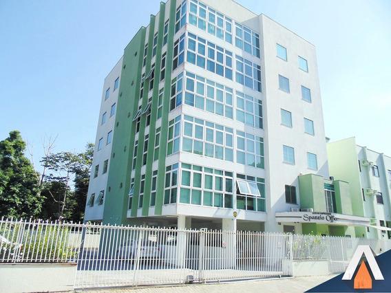 Acrc Imóveis - Sala Comercial Para Locação No Bairro Ponta Aguda - Sa00411 - 33826102