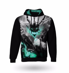 Blusa Moletom Manga Longa Thresh - Casaco League Of Legends