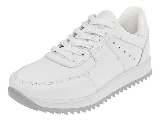 Tenis Blancos Para Dama, Mundo Terra 022373