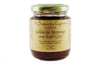 Geleia Artesanal De Morango Com Earl Grey 250g