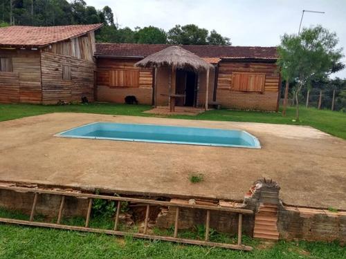 Imagem 1 de 7 de Chácara Com 3 Dormitórios À Venda, 9000 M² Por R$ 375.000,00 - Jaguari - São José Dos Campos/sp - Ch0130