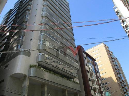 Apartamento À Venda, 137 M² Por R$ 421.981,00 - Canto Do Forte - Praia Grande/sp - Ap0974
