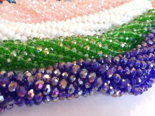 Murano Piedras Cristales Pack 100 Unidades Tamaño 8mm