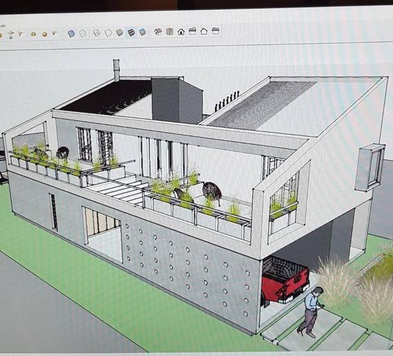 Casa 3 Dormitorios A Terminar. Obra Gruesa Finalizada