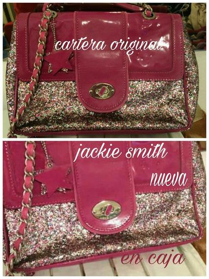 Jackie Smith Cartera Nueva Original En Caja 22 X 29