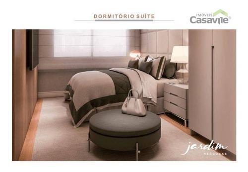 Apartamento Com 2 Dormitórios À Venda, 71 M² Por R$ 646.554,08 - Rebouças - Curitiba/pr - Ap0468
