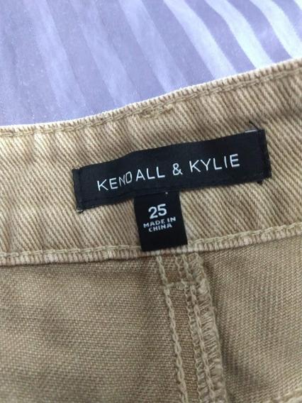 Short Corto Khaki Marcaz Kendall & Kylie Original