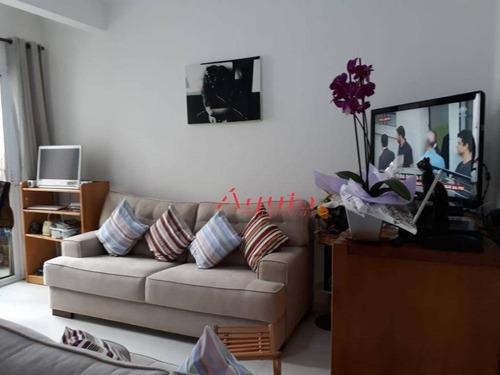 Apartamento Com 2 Dormitórios À Venda, 50 M² Por R$ 270.000,00 - Santa Teresinha - Santo André/sp - Ap1721