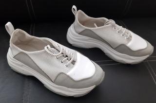 Tenis Para Dama Annik Número 23 Blancos Running