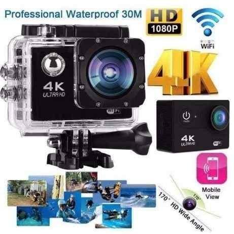 Câmera Action Go Cam Ultra Hd Wi-fi 4k Lcd Frete Grátis