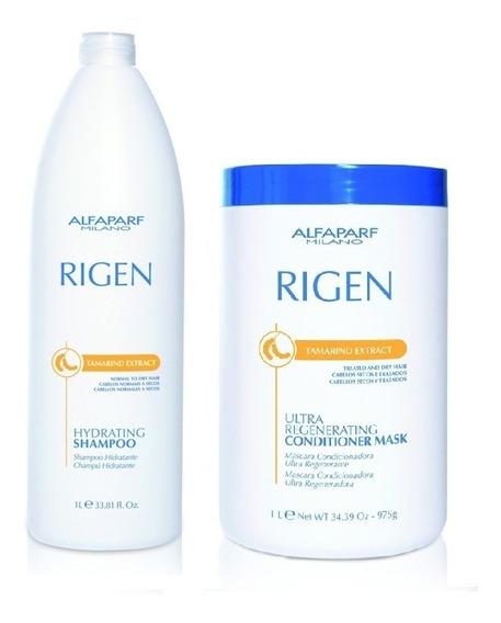 Kit Alfaparf Rigen Tamarind Extract Hydrating (2 Produtos)
