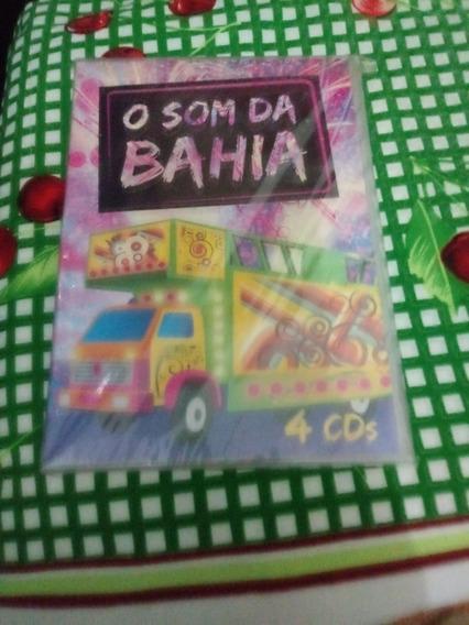 Box O Som Da Bahia 4cds