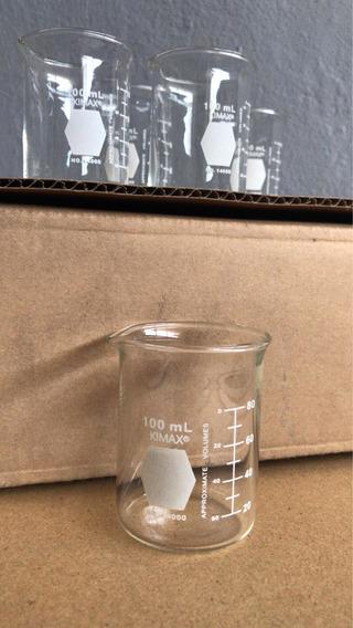 Caja Vaso De Presipitado 100ml 12 Piezas