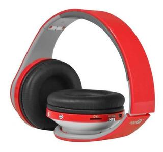 Auriculares Plegables Con Mp3 Microsd Cableados Con Fm