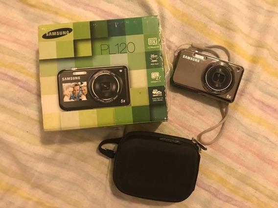 Camera Samsung Pl120 + Brinde