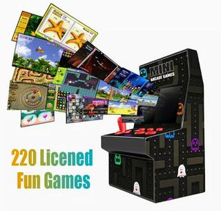 Maquinita Mini Arcade 220 Juegos Nuevo 2020 Excelente