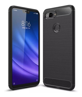 Funda Fibra Carbono Rugged Xiaomi Mi 8 Lite
