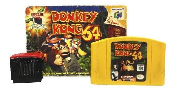 Donkey Kong 64 N64 Mídia Física Pronta Entrega