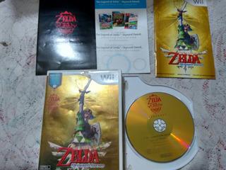 Wii Zelda Skyward Sword Completo