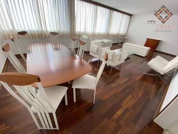 Apartamento Com 4 Dormitórios Para Alugar, 240 M² Por R$ 3.000,00 - Morumbi - São Paulo/sp - Ap47953