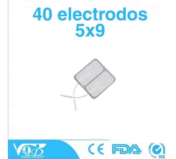 40 Electrodos Adheribles 5x9