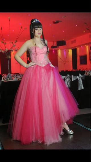 Vestido De Quince Rosa