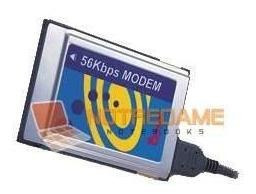 Modem Pcmcia 56k Para Notebook Nuevo En Caja Notredame