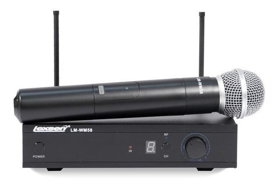 Microfone Sem Fio Lexsen Lm-wm 58