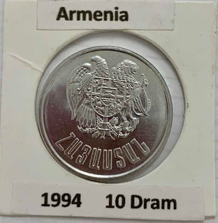 1 Moneda De Bosnia Y 1 De Armenia