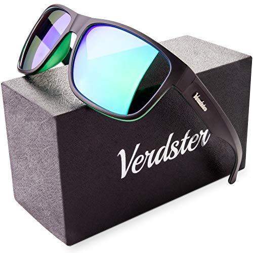 Verdster Espejos Polarizados Gafas De Sol Para Hombres Y