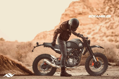 Moto Daytona Scrambler 250cc Clásica Año 2021