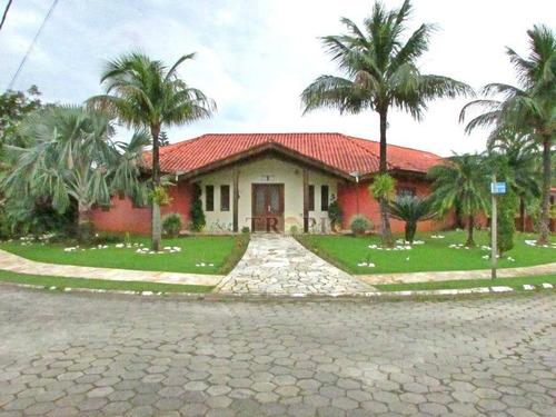 Casa Com 4 Dormitórios À Venda, 272 M² Por R$ 1.500.000,00 - Boracéia - Bertioga/sp - Ca0047