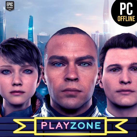 Detroit Become Human Pc - Offline Epic Games