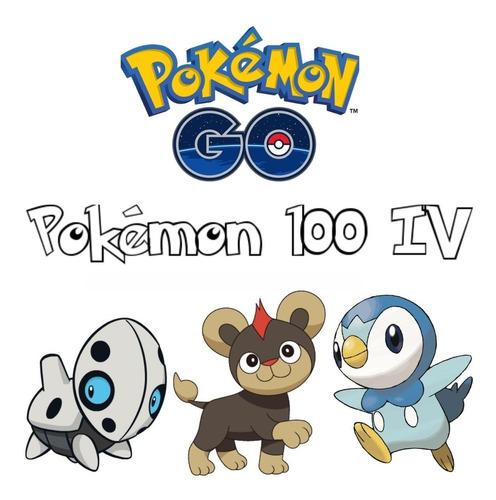Imagem 1 de 5 de Pokémon 100% Iv - Aron, Litleo E Piplup - Pokémon Go Trocas