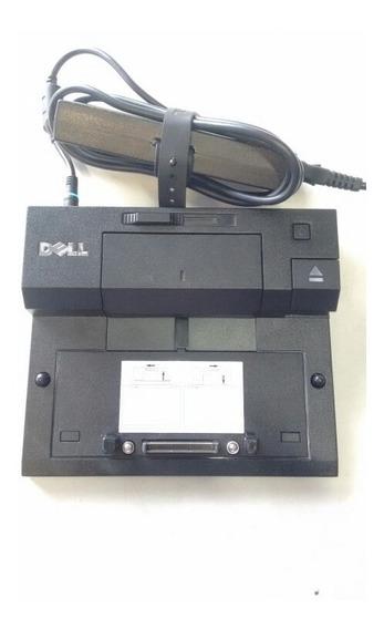 Dockstation Dell Pr03x Com Fonte 19v 6.7a Original Blue Led