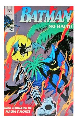 Batman 21 Dc Comics Abril Jovem 1991