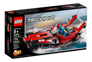 Lego Technic 42089 Lancha De Carreras 2en1 Mundo Manias