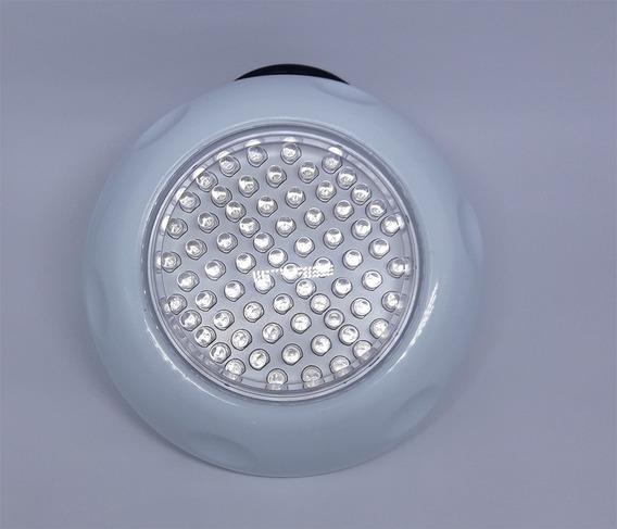 4 Refletor Piscina Luz Branca Led 70 Pontos Brustec C/garras