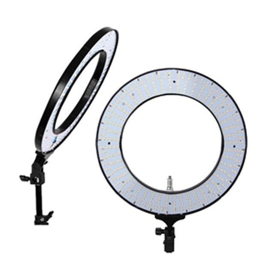 Iluminador Ring Light Rl-18 - 48cm + Fonte