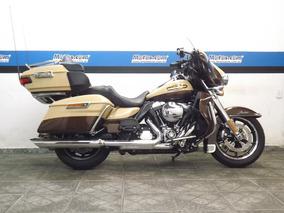 Harley Davidson Electra Glide Ultra Limited Flhtk 2014 Bege