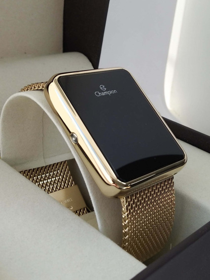 Relógio Champion Digital Dourado Ch40080v La