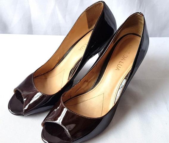 Sapato Pipitu Luz Da Lua Original Em Verniz Salto 8 Cm Nº 35