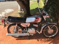 Yamaha Rx 125 - Placa Preta