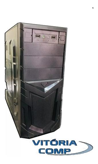 Cpu Gamer Intel Core 2 Duo 4gb Hd 160 + Brinde Wi-fi