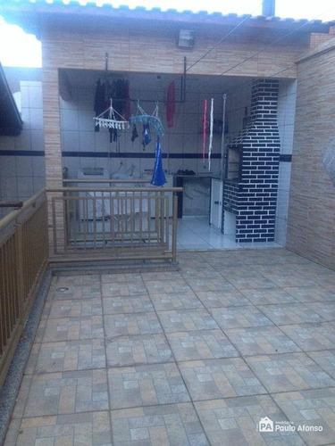 Casa Com 2 Dormitórios À Venda, 160 M² Por R$ 450.000,00 - Jardim Bandeirantes - Poços De Caldas/mg - Ca0461